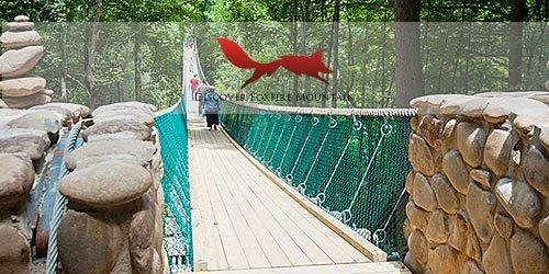 Foxfire Mountain Swinging Bridge Adventure